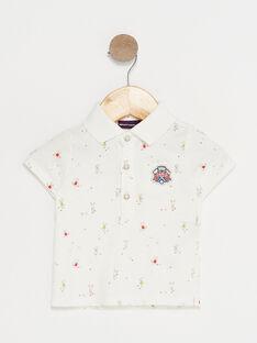 Off white Polo shirt TYBECK / 20E1BG11POL001