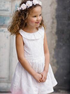 White Dress TYROETTE / 20E2PFJ4ROB000