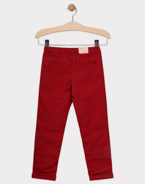 Red pants SOIFIRETTE / 19H2PFI1PANF511