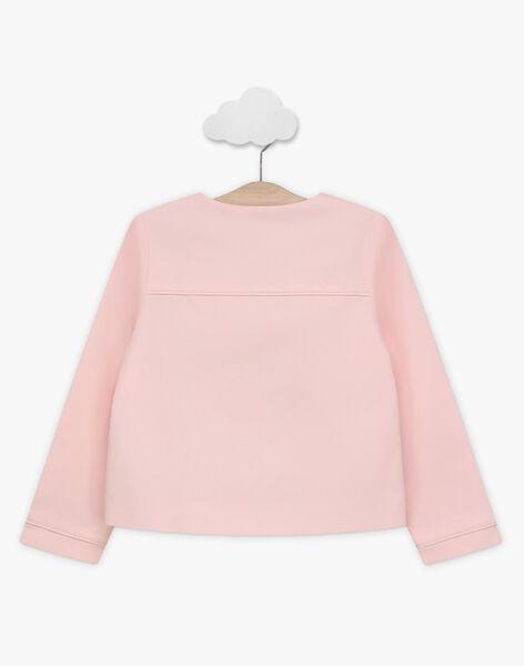 Clear pink Blazer TYGOETTE / 20E2PFJ1VES321