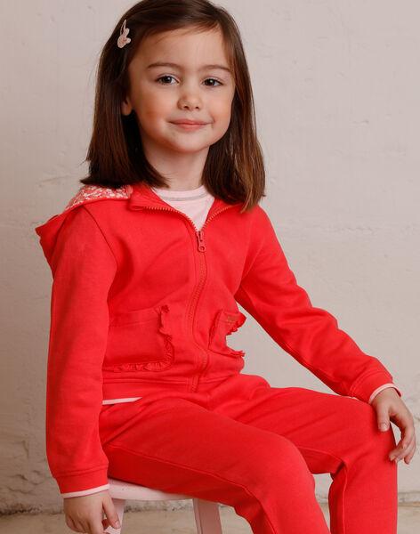 Child girl jogging jacket ZLUDETTE 1 / 21E2PFK2JGH419