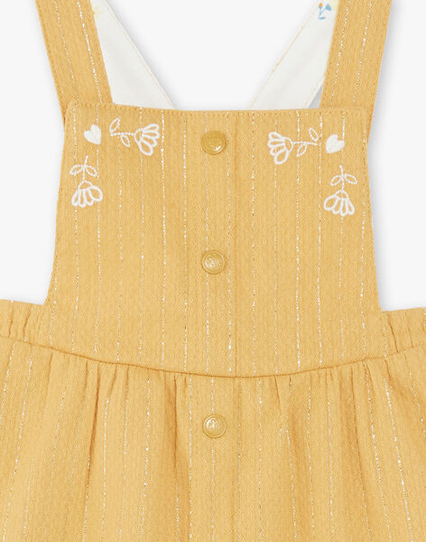 Set body and dress overalls child girl ZADILIS / 21E1BF91ENS001