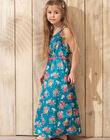Lagoon blue No sleeves dress TEUMETTE / 20E2PFX1RBS210