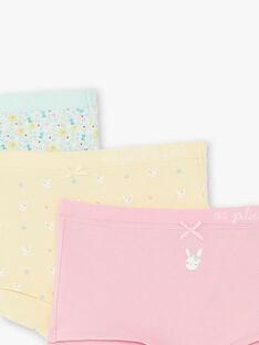 Set of 3 assorted shortys for children and girls ZETRIETTE / 21E5PF32SHY614