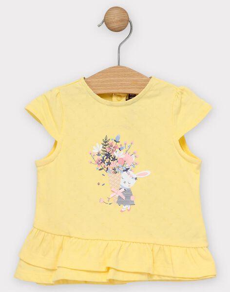 Pale yellow T-shirt TAORELIE / 20E1BFO1TMC103
