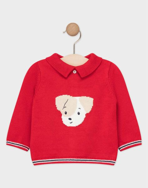 Red Pullover TACARL / 20E1BGC2PUL050