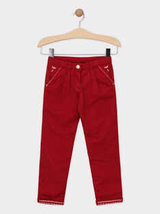Red pants SOIFIRETTE / 19H2PFI1PANF511