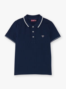 Child boy polo shirt ZAZPLAGE1 / 21E3PGK1POL070