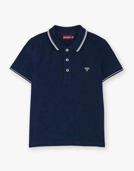 Child boy polo shirt ZAZPLAGE1 / 21E3PGK1POL070