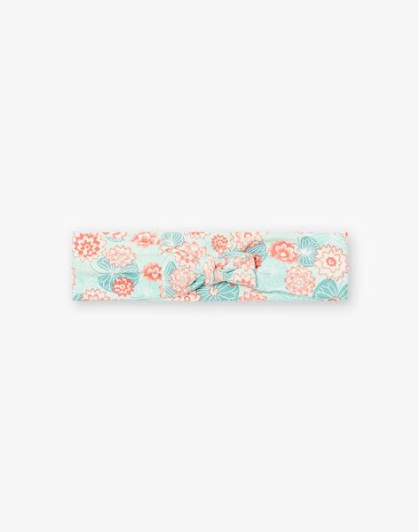 Headband printed lotus flowers ZACINDY / 21E4BFI2BAN629