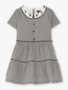 Black and white gingham dress ZEVYCHETEX / 21E2PF92ROB090