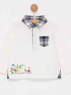 Off white Polo shirt PAMARCEL / 18H1BGH1POL001