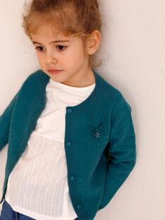 Cardigan child girl ZLADETTE 4 / 21E2PFK4CAR714