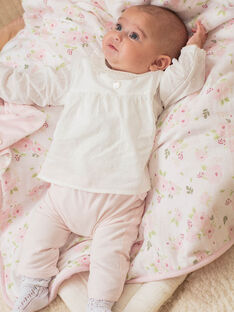 Baby girl bodysuit and blouse set BOLISA / 21H0CF42ENS301