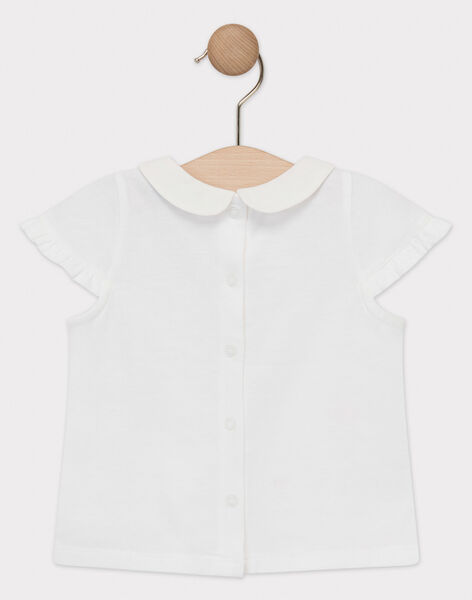 Off white Baby blouse TAIMEE / 20E1BFG1BRA001