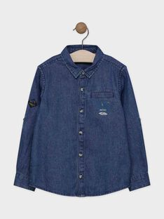 Denim SHIRT with long, roll-up sleeves SACHEMAGE / 19H3PG21CHMP272
