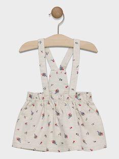 Baby girls' floral print skirt SACARLA / 19H1BF31JUP007