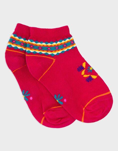 Fushia Low socks ROUMINETTE / 19E4PFM1SOB304