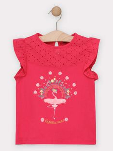 Rose T-shirt TOTAETTE / 20E2PFG1TMC302