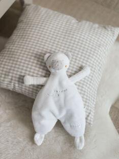 Ecru teddy bear plush baby girl BOROMAN / 21H0AM41JOU001