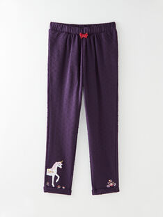 Purple PANTS VLIJOETTE / 20H2PFS1PAN718