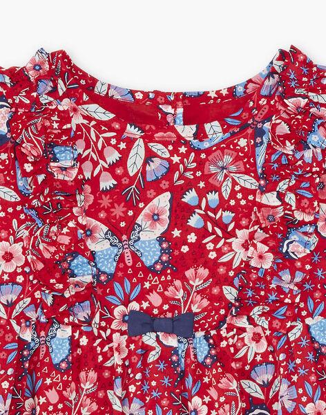 Baby girl red dress ZAFANCHON / 21E1BFB1ROB050