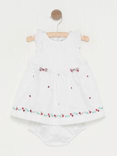 White Dress TUVIOLON / 20E0CFR1ROB000