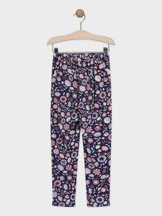 Purple pants TAEFIETTE 1 / 20E2PFM3PAN711