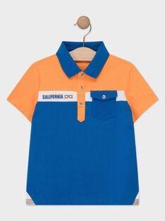 Orange Polo shirt TEBRUAGE / 20E3PGG1POL400