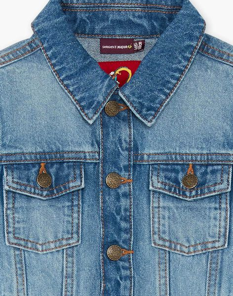 Blue denim jacket ZAENIMAGE / 21E3PGM3BLOP269