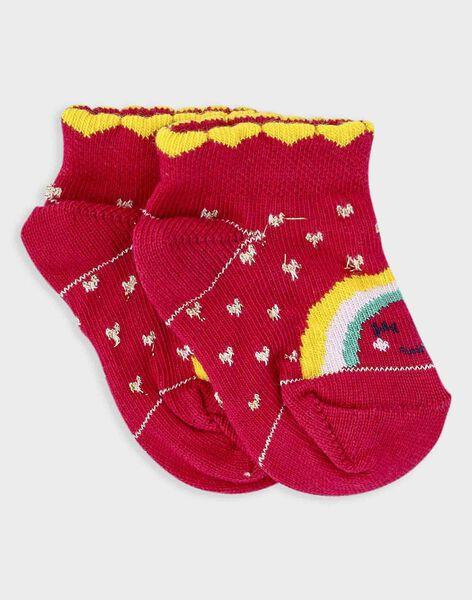 Rose Low socks TAIVANA / 20E4BFG1SOB302