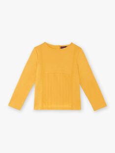 T-shirt long sleeves child girl ZETETTE 1 / 21E2PF92TMLB114