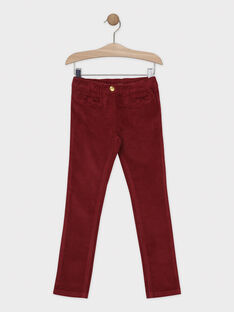 Red pants SAVELETTE 2 / 19H2PFH1PANF511