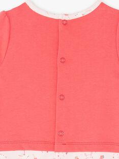 Pink ROMPER ZECANDY / 21E5BF13GRED325