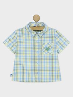 Greyish blue Shirt RAULYSSE / 19E1BGP1CHM205