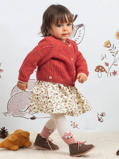 Baby girl pink vest BAIRIS / 21H1BFJ1CARD332