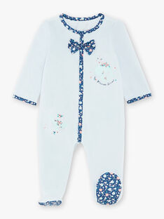 Blue velvet sleep suit ZECALYPSO / 21E5BF15GRE203