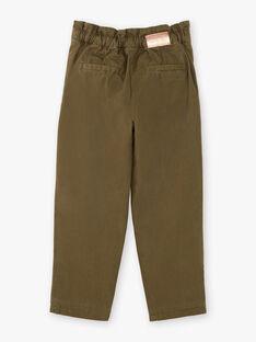 Children's pants girl ZAPAETTE / 21E2PF71PAN604
