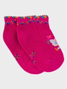 Fushia Low socks RAROSA / 19E4BFM1SOB304