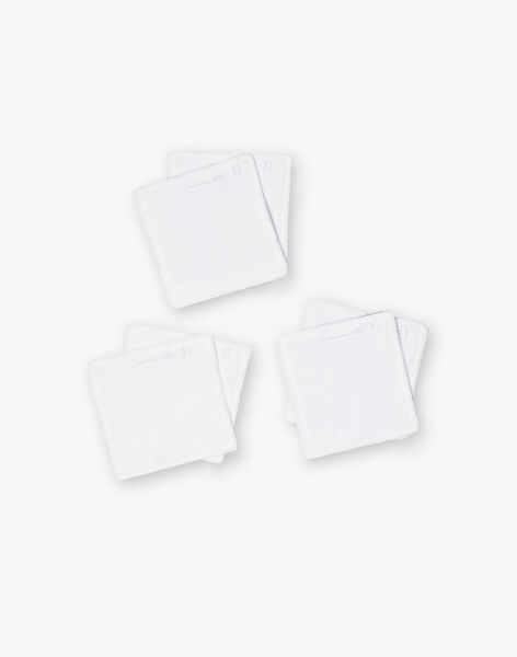 Set of 3 baby boy squares ZOBORIS / 21E0AGG1ACD020