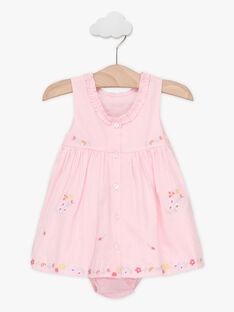 Clear pink Chasuble dress TALOISE / 20E1BFJ1CHS321