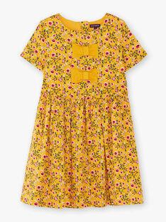 Yellow DRESS VIBORETTEX / 20H2PF61ROB107