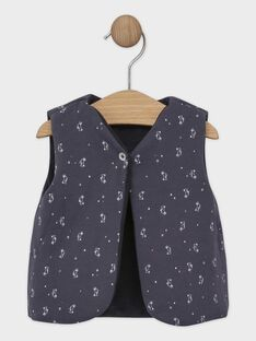 Dark grey Sleeveless cardigan SAWILBERT / 19H1BGP1CSM941