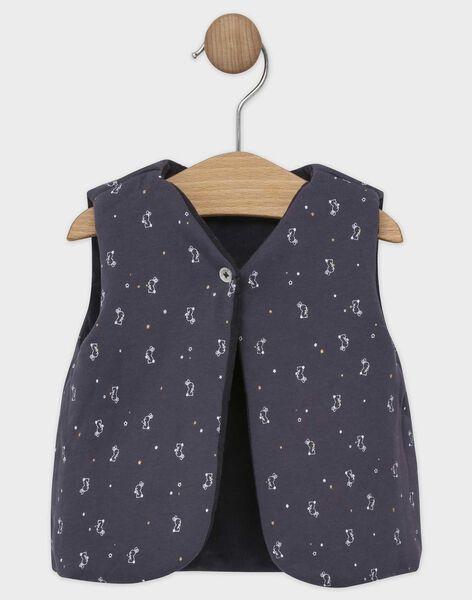 Dark grey Sleeveless cardigan SAWILBERT / 19H1BGP1CSM941