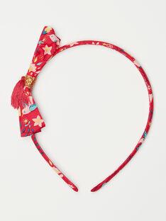 Red headband TIUSERTETTE / 20E4PFL2TETF510