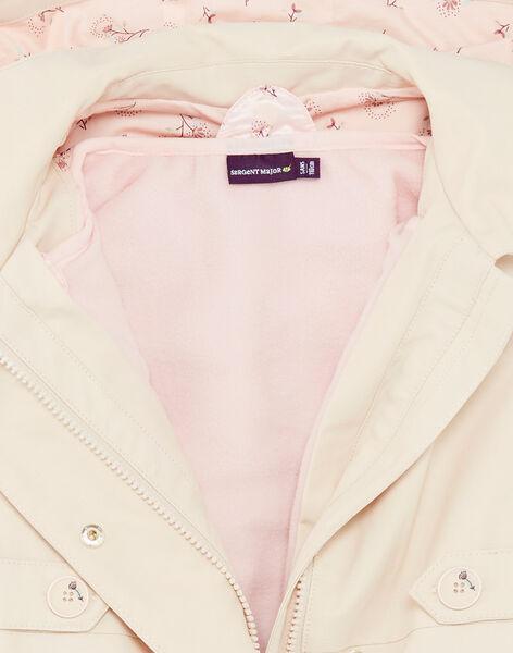 2 in 1 Pink trench coat effect ZOUPARKETTE / 21E2PFM1IMP808