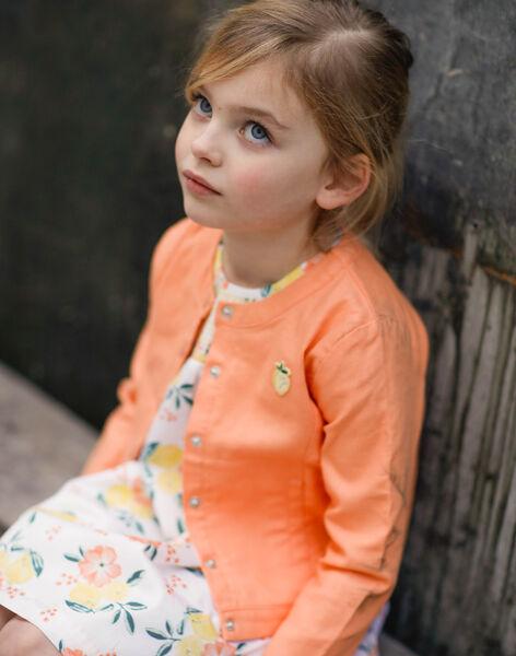 Light orange BLAZER ZIJAKETTE / 21E2PFO1VES406