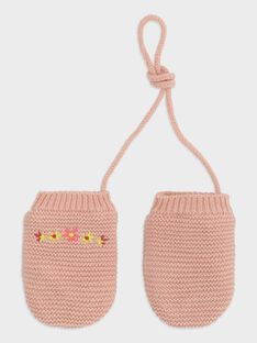 Baby rose Gloves TABIANCA / 20E4BFB1GAN307