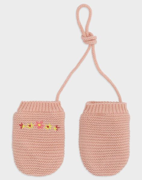 Baby rose Gloves TABIANCA / 20E4BFB1GAN307