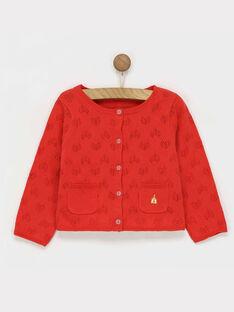 Red Cardigan RAFABOU / 19E1BFC2CARF505